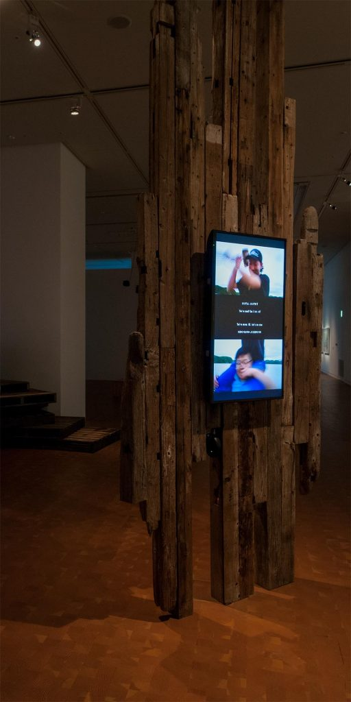 展示風景:「他人の時間」 国立国際美術館(大阪) 2015 撮影:福永一夫 写真提供:国立国際美術館