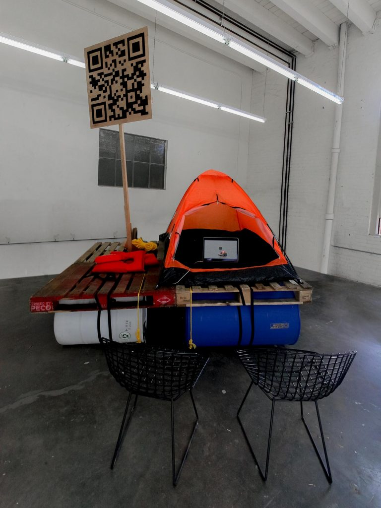 Installation view: End of Summer, 2016, Venue: Yale Union, Portland, USA