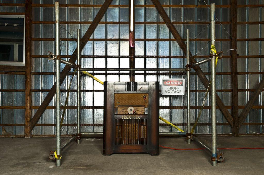 性欲電気変換装置「エロキテル」USAヴァージョン, 2008