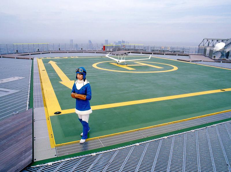 メーヴェ1/2、photo : Hiroyuki Matsukage (「六本木クロッシング:日本美術の新しい展望2004」@森美術館)