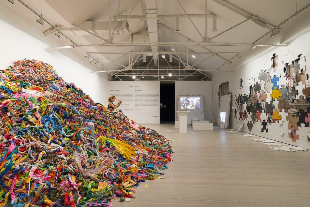 The History of Human, Saatch Gallery, London, photo: Taisuke Koyama