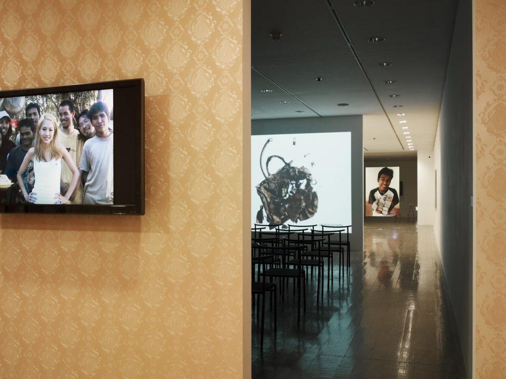 installation view: