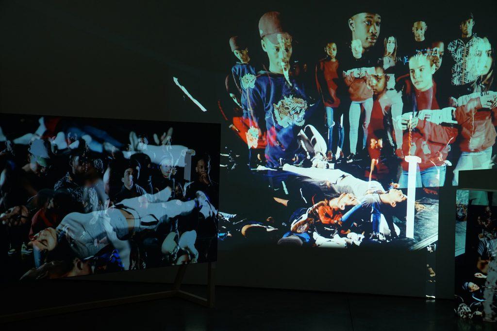 installation view at MAC VAL, France, 2018
