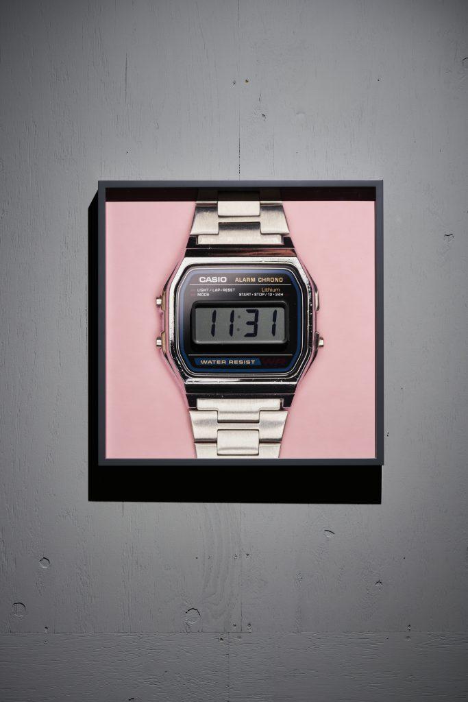 Framed Time (digital-pink)