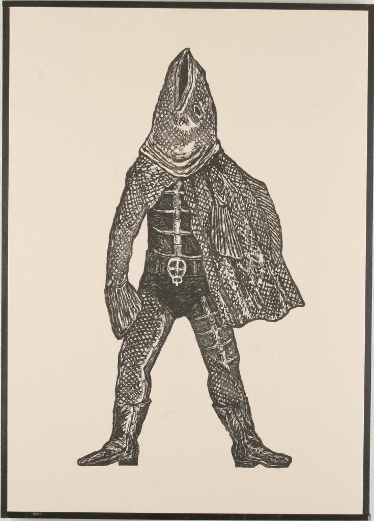 アラジル男、74.5 x 53.8 cm