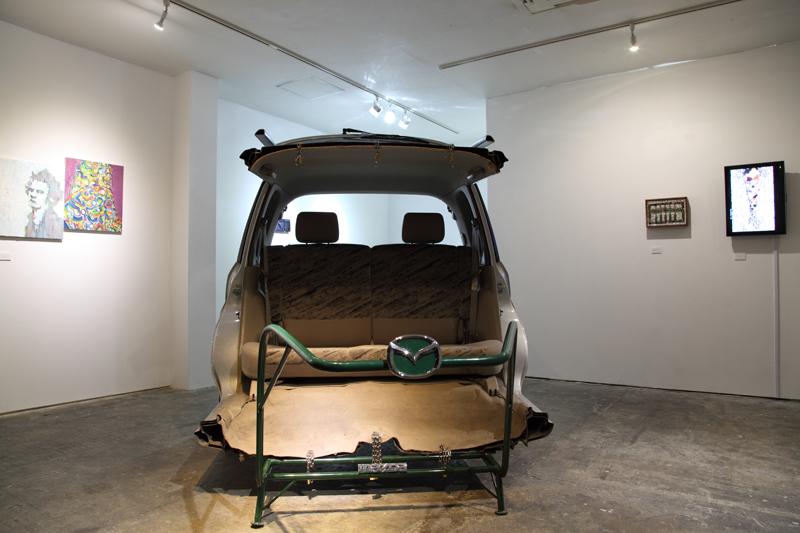 Nikoichi Car (Exhibition view)