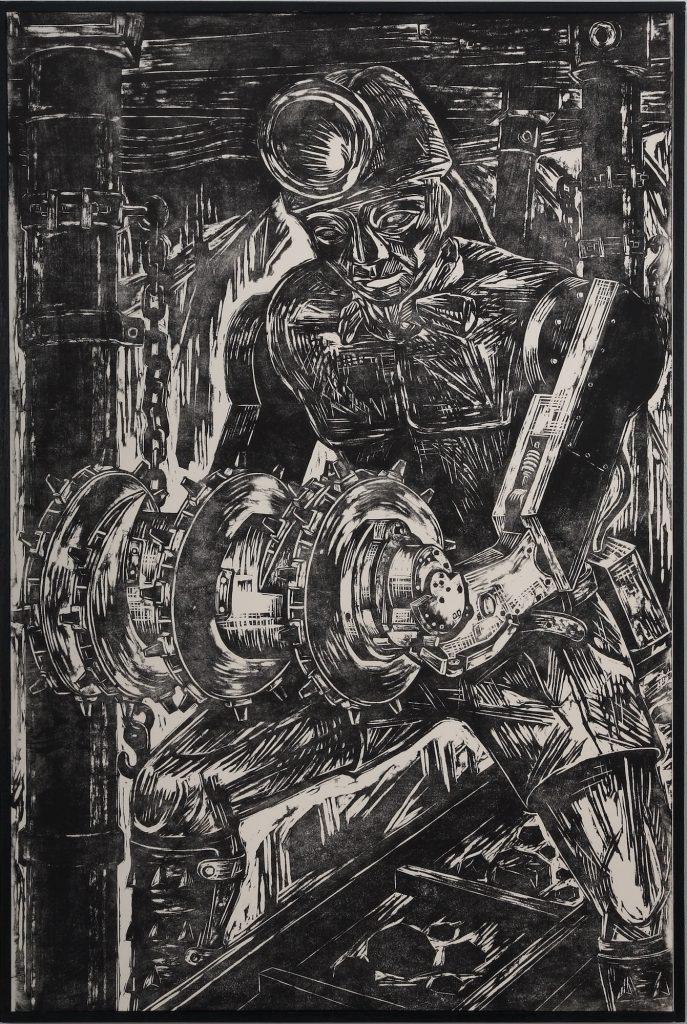 サイバー・タンコタロ、91 x 60.6 cm