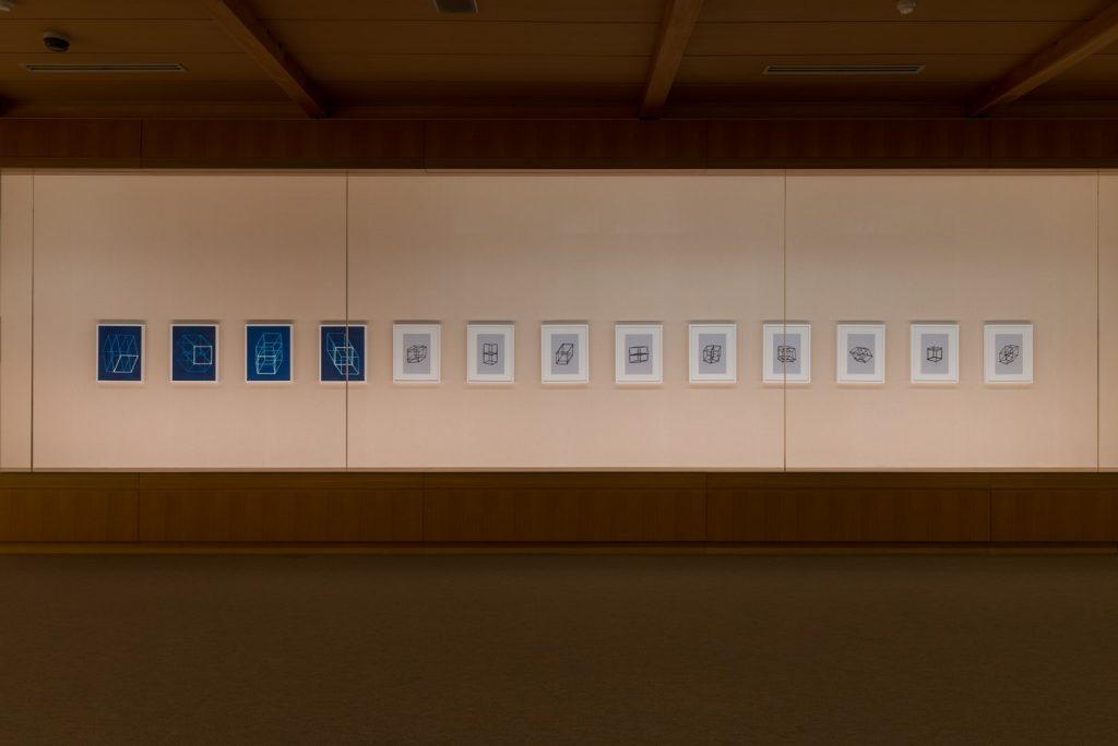 展示風景:「シュらん展'17」久万美術館、愛媛、2017