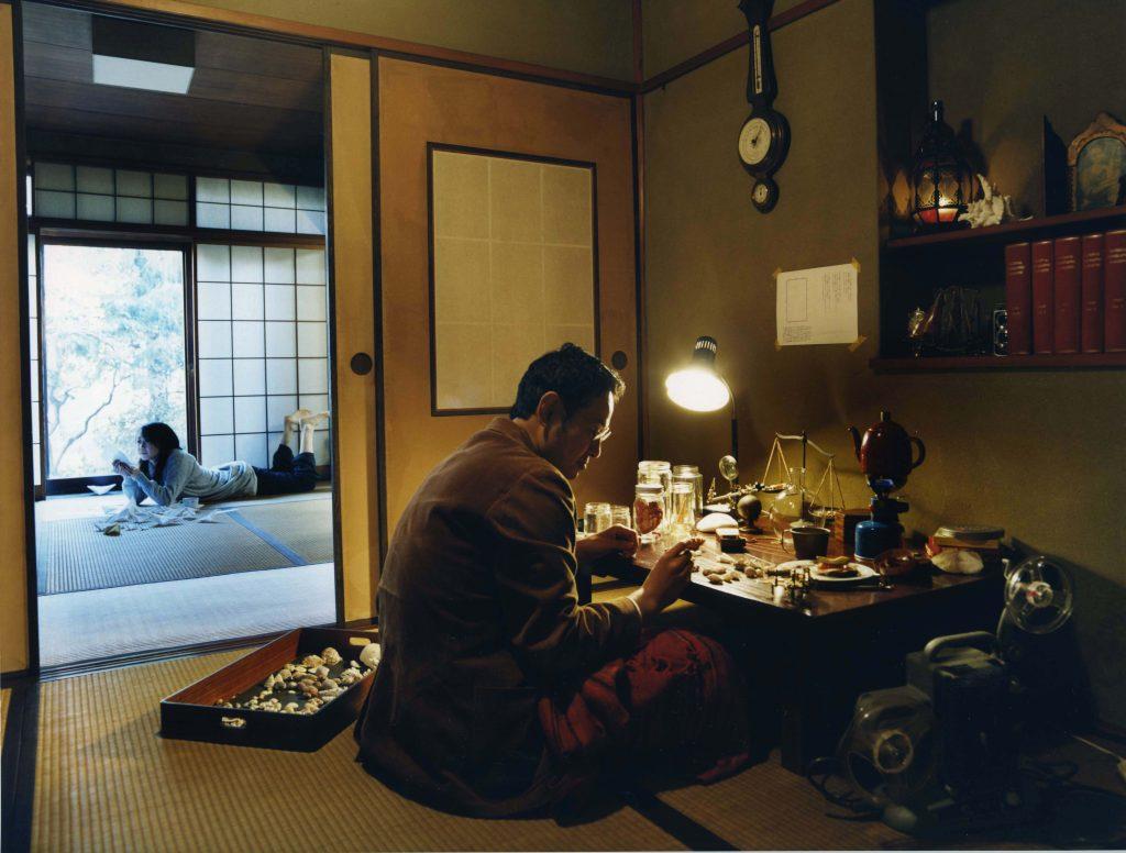 「日本間2」2004 、C-print