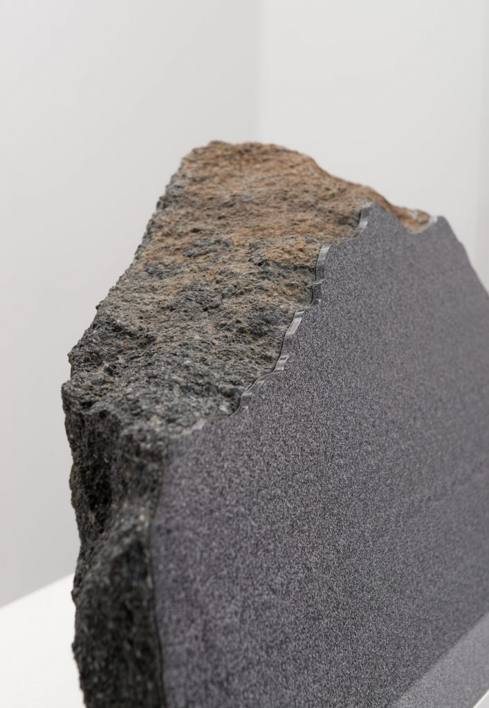 Frottage (Rock Art) - Detail, photo: Nobutada Omote