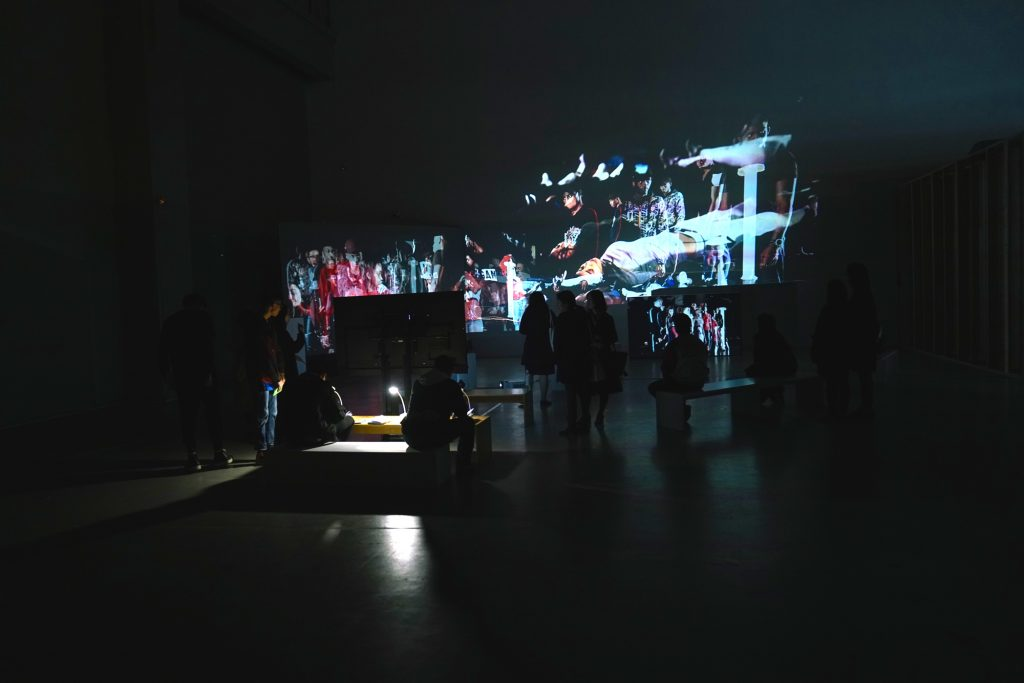installation view at Shanghai Biennale, China, 2018