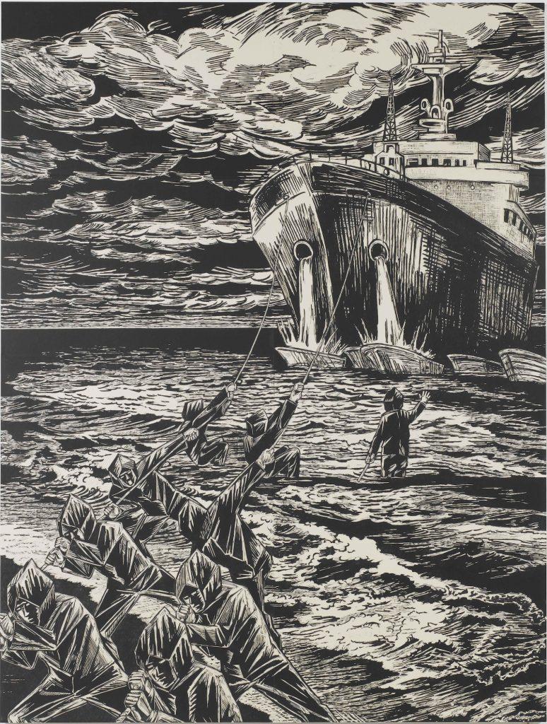 帰り船(黒い座礁)
